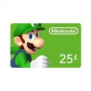 Nintendo eShop punjiva kartica 25 Font MULTI