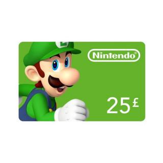 Nintendo eShop punjiva kartica 25 Font Više platforma