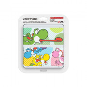 New Nintendo 3DS Cover Plate (Multicolor Yoshi) (Cover)