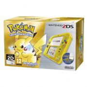 Nintendo 2DS (Priehľadný, Yellow) + Pokémon Yellow Version Special Pikachu Edition