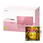 Nintendo 3DS (Pink) + The Legend of Zelda A Link Between Worlds