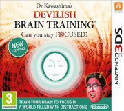 Dr. Kawashima's Devilish Brain Training 3DS