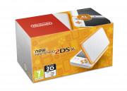 New Nintendo 2DS XL (White-Orangeyellow) 3DS