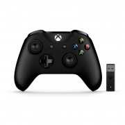 Xbox One bežični kontroler (Black) + Adapter za Windows 10
