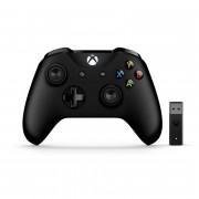 Xbox One bežični kontroler (Black) + Adapter za Windows 10