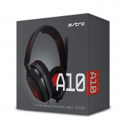 Astro A10 red gaming headset-slušalice