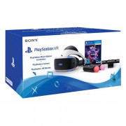 PlayStation VR Headset + Move Motion Controllers + Camera + VR Worlds Bundle PS4