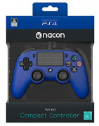 Playstation 4 (PS4) Nacon Wired Compact Kontroler (Plavi)