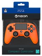 Playstation 4 (PS4) Nacon Wired Compact Kontroler (narančasti)
