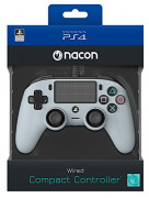 Playstation 4 (PS4) Nacon Compact kontroler s kablom (sivi)