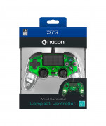 PlayStation 4 (PS4) Nacon Wired Compact Kontroler (zeleni) PS4