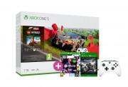 Xbox One S 1TB + Forza Horizon 4 LEGO Speed Champions + FIFA 21 + Gears of War 4 + dodatni kontroler (bijeli)