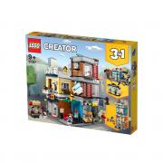 LEGO Creator Dućan za kućne ljubimce i kafić Gradska kuća (31097)