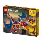 LEGO Creator  Vatreni zmaj (31102)