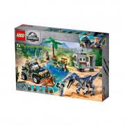 LEGO Jurassic World Sukob s Baryonyxom: lov na blago (75935)