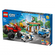LEGO City Policijska potjera za monster truckom (60245)