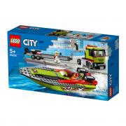 LEGO City  Kamion za prijevoz trkaćeg čamca (60254)