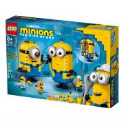 LEGO Minions Malci od kocaka i njihova jazbina (75551)