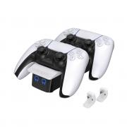 VENOM VS5001 PS5 Punjač kontrolera (bijeli)