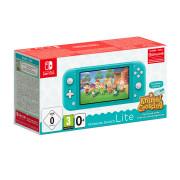 Nintendo Switch Lite Turquoise & Animal Crossing: New Horizons Edition