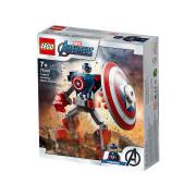 LEGO Super Heroes Mehanički oklop Kapetana Amerike (76168)