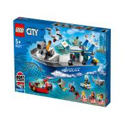 LEGO City Police Policijski patrolni čamac (60277)