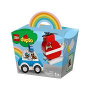 LEGO DUPLO Vatrogasni helikopter i policijski automobil (10957)