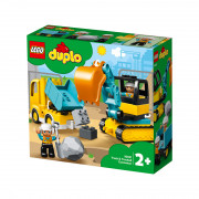 LEGO DUPLO Kamion i bager gusjeničar (10931)