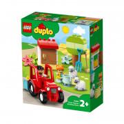 LEGO DUPLO Traktor i briga o životinjama na farmi (10950)