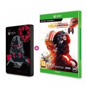 SEAGATE Xbox 2TB HDD Jedi skin + Igra Star Wars Squadrons