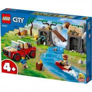 LEGO City Džip za spašavanje u divljini (60301)