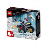 LEGO Super Heroes Obračun Kapetana Amerike i agenta Hydre (76189)