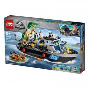 LEGO Jurassic World Bijeg Baryonyxa na brodu (76942)