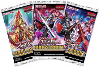 Yu-Gi-Oh! Kings Court Booster Pack (1 kom) Merch