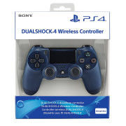 PlayStation 4 (PS4) Dualshock 4 Kontroler (Midnight Blue) PS4