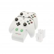 Venom VS2859 Xbox One bijeli punjač + 2 baterije XBOX ONE