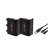 Venom VS2850 Xbox One black 2 baterije  + 2m kabel