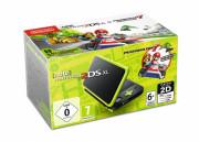 New Nintendo 2DS XL (Black & Lime Green) + Mario Kart 7