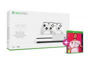 Xbox One S 1TB + dva kontrolera + FIFA 20