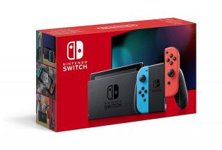 Nintendo Switch (Red-Blue) (New-V2) Nintendo Switch