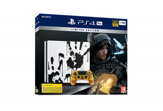 PlayStation 4 (PS4) Pro 1TB Death Stranding Limited Edition PS4