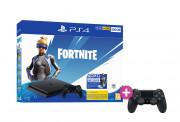 PlayStation 4 (PS4) Slim 500GB + Fortnite Neo Versa Bundle + PS4 Sony Dualshock 4 Kontroler PS4
