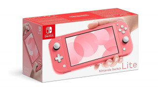 Nintendo Switch Lite Coral Nintendo Switch