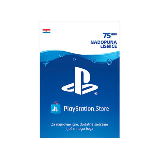 ESD HR - PlayStation Store nadopuna lisnice 75 kn PS4