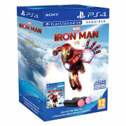 Marvel's Iron Man VR + 2 PlayStation Move Motion Kontrolera PS4