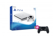 PlayStation 4 (PS4) Slim 500GB Glacier White + PS4 Sony Dualshock 4 Wireless Kontroler