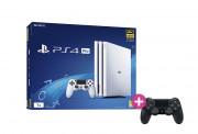PlayStation 4 (PS4) Pro 1TB Glacier White + PS4 Sony Dualshock 4 Wireless kontroler PS4