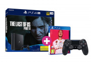 PlayStation 4 Pro 1TB + The Last of Us Part II + FIFA 20 + PS4 Dualshock4 kontroler PS4