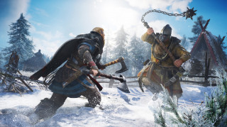 Assassin's Creed Valhalla Ultimate Edition + Eivor figura PS4