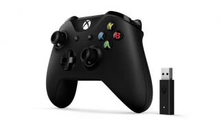 Xbox One bežični kontroler (Black) + Adapter za Windows 10 Xbox One